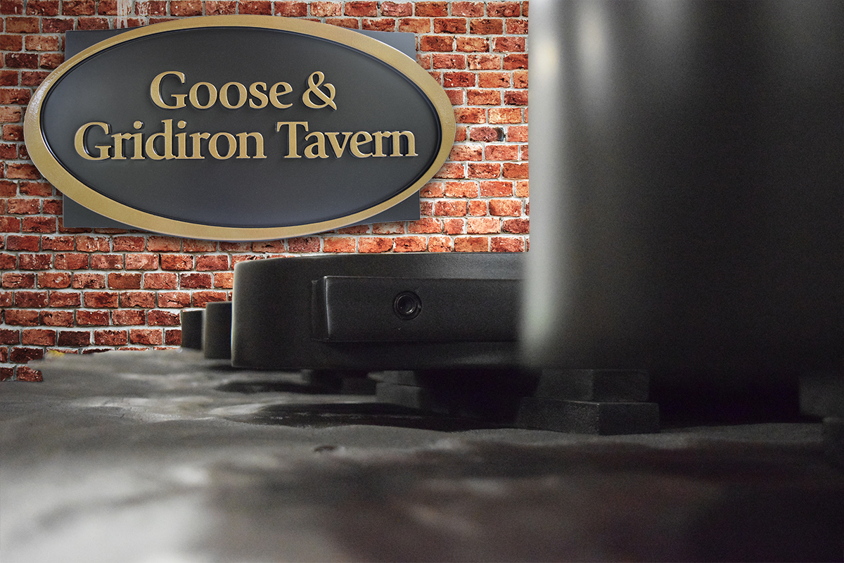 Goose and Gridiron Tavern not collage