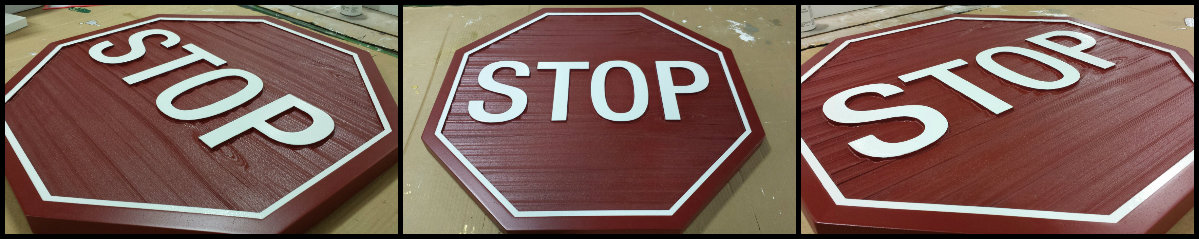 Stop Sign Collage